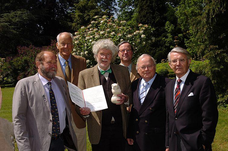 Verleihung des Blunck–Umweltpreises an Natur Plus e.V. Panten