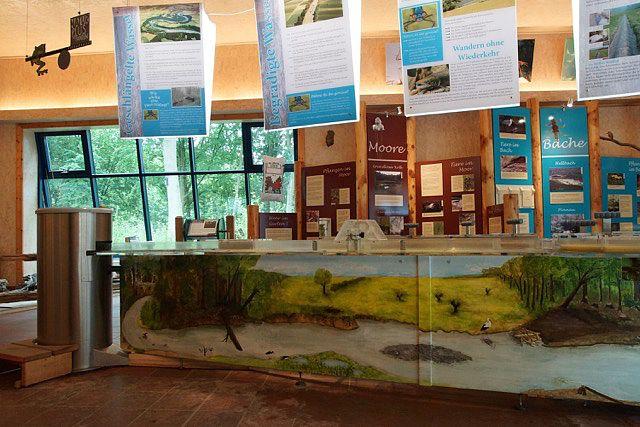 Mit Blunck- Jugend-Umweltpreis ausgezeichnet - Malerei am Korpus des Wassermodells